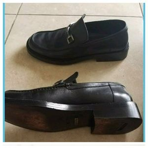 Gucci Shoes - Gucci Mens Leather Horsebit Loafers